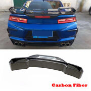 Rear Trunk Spoiler Racing Wing Fit For Chevrolet Camaro Coupe 16-18 Carbon Fiber
