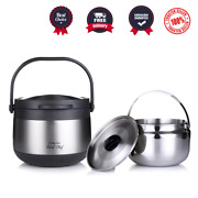 Thermos Vacuum Insulated Food Jar 3 Litre Lunch Container Thermos Hot Lunch Box
