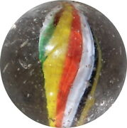 Quality Marbles - Naked Solid Core Swirl With Jelly Parts - Ver085