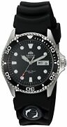 Orient Men's 'ray Ii Rubber' Japanese Automatic Stainless Steel Diving Watch, Co