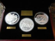 Canada 2015 125 Conservation Series 3 Coin Set .999 Silver Mintage - Only 500