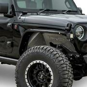 Dv8 Offroad Slim Front With Led Turn Signal Lights For Jeep Wrangler 2018-2019