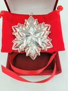 Reed And Barton 925 Sterling Silver 2nd Edition Annual Star Christmas Ornament