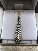Authentic Otissima Light 18kt Gold Necklace Model Ybb307 Box And Papers