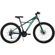 Huffy 26-inch Scout Menand039s 21-speed Hardtail Mountain Bike Denim Blue New
