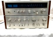 Vintage Pioneer Sa-8100 Integrated Amplifier And Tx-8100 Am/fm Stereo Tuner