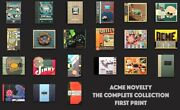 Chris Ware - Acme Novelty Library - Rare = 21 Issues- Very Good Condition