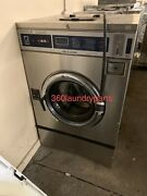 Dexter T400 Triple Load Washer Stainless Steel Front 1phase 220v Recond