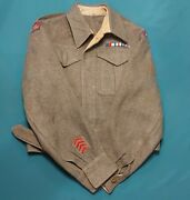 Ww2 Rcamc Royal Canadian Army Medical Corps Officerand039s Battle Tunic