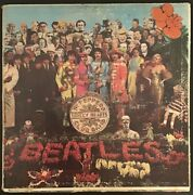 The Beatles Vinyl 1967 Mono Pressing, Sgt. Pepper's Lonely Hearts Club Band