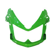 Motorcycle Front Upper Head Cowl Fairing Nose For Kawasaki Er6f 2006-2008 Green