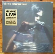 Neil Youngyoung Shakespearefactory Sealed Lmtd Edition Box Lp/cd/dvd 01472
