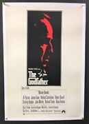 The Godfather British Movie Poster Brando Pacino Coppola Hollywood Posters