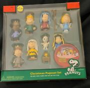 Peanuts By Schultz Figures - Peanuts Christmas Pageant Set