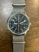 Seiko Pulsar Military Watch Chronograph Pm3129x1 Men's Watch Excellent