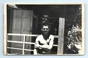 Photo Shirtless Buddy Man Athletic Physique Muscle Gay Int B30 Soviet Cowboy