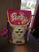 Original 1998 First Edition Electronic Furby Model 70-800 White New In Backpack