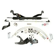 For Ford Crestline 50-51 Unisteer Hydraulic Power Steering Rack And Pinion Kit