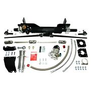 For Chevy Corvette 58-62 Unisteer Hydraulic Power Steering Rack And Pinion Kit