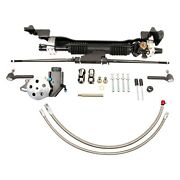 Unisteer Hydraulic Power Steering Rack And Pinion Kit