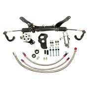 For Chevy Chevy Ii 1962 Unisteer Hydraulic Power Steering Rack And Pinion Kit
