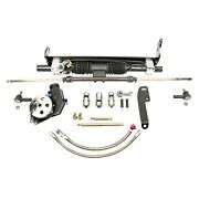 For Chevy Monte Carlo 70-72 Unisteer Hydraulic Power Steering Rack And Pinion Kit
