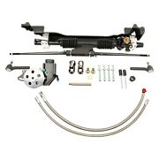 For Ford Fairlane 60-64 Unisteer Hydraulic Power Steering Rack And Pinion Kit