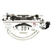 For Ford Thunderbird 55-57 Unisteer Hydraulic Power Steering Rack And Pinion Kit