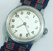 Vintage Omega Wwii Military Cal 310 R17.8 Mens 1939 Manual Watch Nice Rare