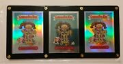 Garbage Pail Kids Chrome Series 2 Booger Betty 45c Refractor Variant 3 Card Set