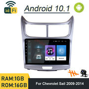 Android 10.1 Car Dvd Player Gps Navi Radio Stereo For Chevrolet Sail 2009-2014