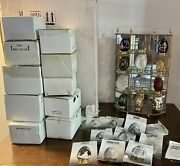 Franklin Mint Collectors Treasury Of Eggs 12 Artistic Eggs And Display Case Shelf