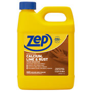 Zep Zucal32 Calcium, Lime And Rust Stain Remover, 32oz, Pk12