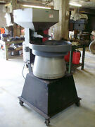 Automation Devices Model 25, 36 Bowl Vibratory Feeder And Feed Hopper, 120 Volt