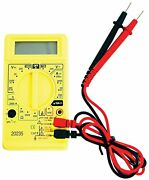 Grip 20235 - 19 Range Digital Multi-tester With Positive And Negative Probes,...