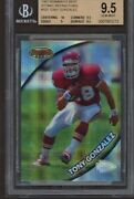 1997 Bowmanand039s Best Atomic Refractor 101 Tony Gonzalez Rc Rookie Card Bgs 9.5