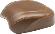 Mustang Brown Smooth Rear - Pillion Pad Wide Tripper Solo Seat 83012