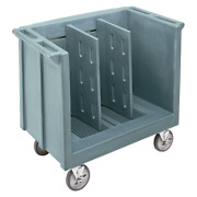 Cambro Tdc30401 Adjustable Dish/tray Cart With 2 Divider