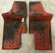 Case/ingersoll 446 Tractor Footboards Paired Set -used-
