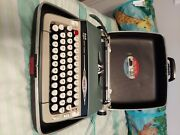 1960 Smith Corona Typewriter In A Carrying Case