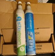 Oem 2x Pair Sodastream 60l Co2 Carbonator Bottles Canister Cylinder Empty