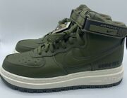 Nike Air Force 1 High Goretex Boot Olive/sail Ct2815-201 Men's Multiple Sizes