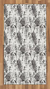 Black And White Area Rug Decorative Flat Woven Accent Rug For Home Decor In 2
