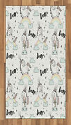 Unicorn Area Rug Decorative Flat Woven Accent Rug For Home Decor In 2 Sizes