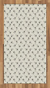 Kites Pattern Area Rug Flat Woven Accent Rug Home Decoration 2 Sizes