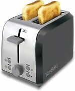 West Bend 78823 Extra Wide Slot Toaster With Bagel Settings Ultimate Toast Lift