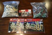 Lego Harry Potter Hogwarts Sets Incomplete 4842 And 4736 With Mini Figs No Box