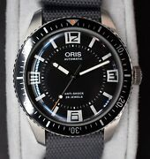 Oris Diver Sixty-five And039maxiand039 Topper Edition - Full Set Automatic Menand039s Watch