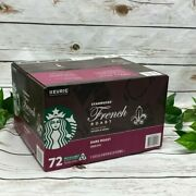 Starbucks French Dark Roast Coffee K-cup Pods- 72 Count