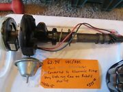 62-74 Sbc Bbc Distributor Tach Drive-converted To Electronic Pick Up--rebuilt
